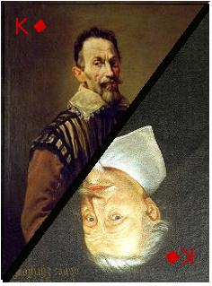 Portraits de Claudio Monteverdi et Heinrich Schütz.
